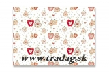 Gift paper apple & pear 50x70cm