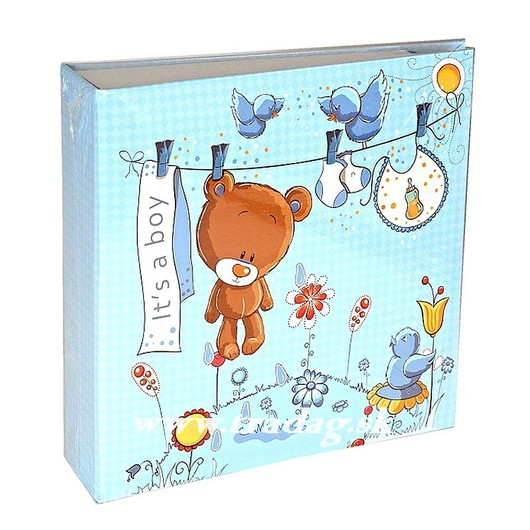 SWEET TEDDY BLUE /EX2/  YO100  10x15