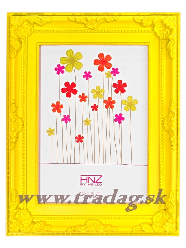 BAROK 13x18 yellow