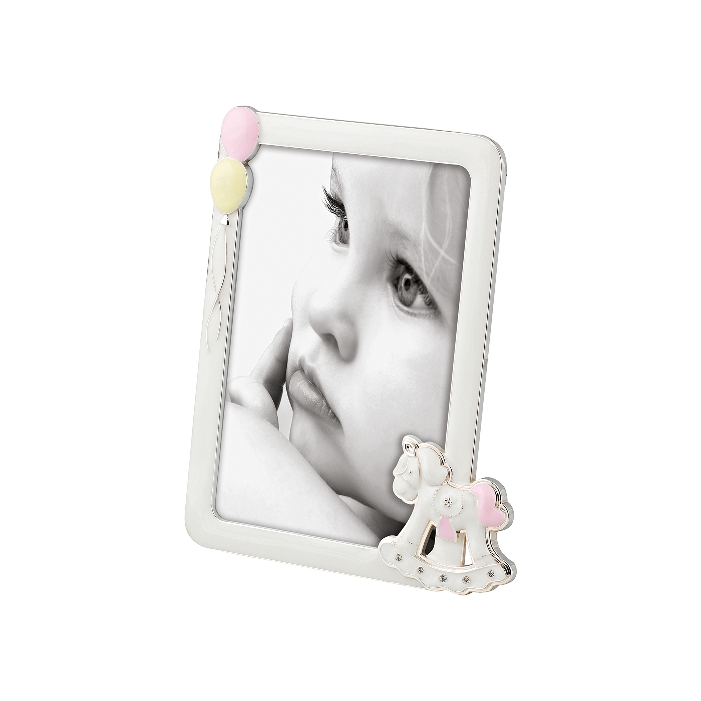 A779 BABY HORSE PINK FRAME 10x15