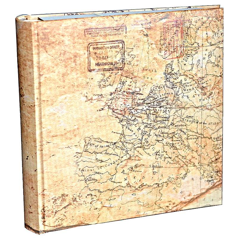S500 ALBUM MAP EUROPE  BB200 13x19 MEMO
