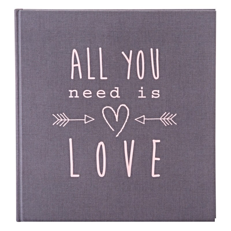 W ALL YOU NEED IS LOVE GREY P60st.  30x31