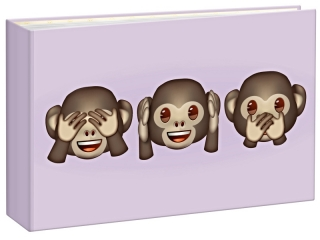 Q40 EMOJI MONKEYS  O36  10x15