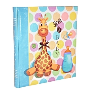 ALBUM GIRAFE BLUE BB  P60str.  29x32