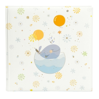 LITTLE WHALE BLUE ALBUM P60 st. 25x25 TURNOWSKY